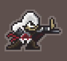 8-Bit Ezio Assassin by justinglen75