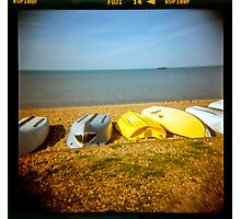 Boats by the Bay Photographic Print