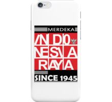 Indonesia Independent Day Since 1945 iPhone Case/Skin