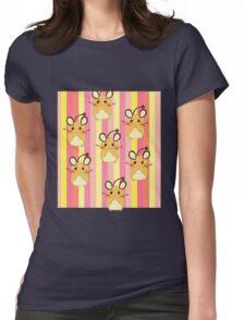 Poke cute Womens Fitted T-Shirt