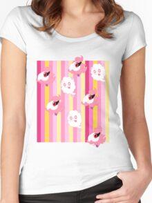 Poke cute2 Women's Fitted Scoop T-Shirt