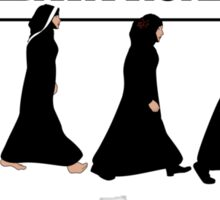 Abaya Road Sticker