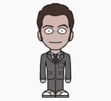 The Tenth Doctor (sticker) by redscharlach