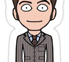 The Tenth Doctor (sticker) Sticker