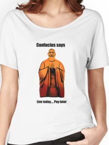 Confucius Women's Relaxed Fit T-Shirt