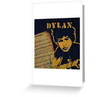 Dylan Greeting Card
