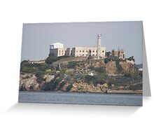 Alcatraz - San Francisco  Greeting Card