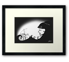 Fisherman's Bride Framed Print