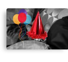 Is This Where The Party`s At? Canvas Print
