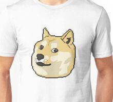 pixel shibe doge Unisex T-Shirt