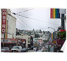 Castro - San Francisco  Poster