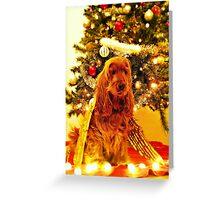 KIM - Christmas card (III) Greeting Card