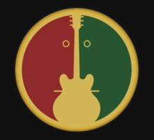 1Guitar 2Players Reggae decoration Clothing & Stickers by goodmusic