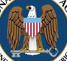 NSA Naughty and Nice Sticker