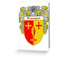 Branagan Coat of Arms/Family Crest Greeting Card