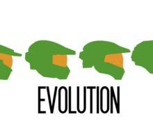 Halo Evolution (Halo) Sticker