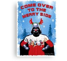 Merry Vader Canvas Print