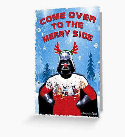 Merry Vader Greeting Card
