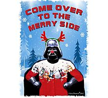 Merry Vader Photographic Print