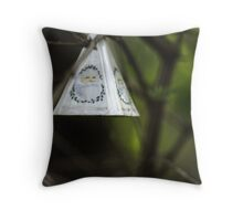 centralia christmas ornament Throw Pillow