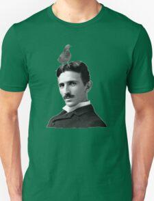 Tesla & Pigeon Unisex T-Shirt
