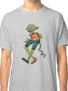 City hipster monkey green Classic T-Shirt