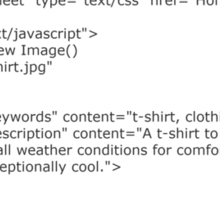 HTML T-Shirt Sticker