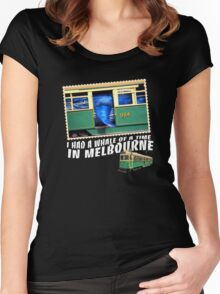 Melbourne Tram Women's Fitted Scoop T-Shirt