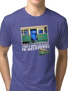 Melbourne Tram Tri-blend T-Shirt