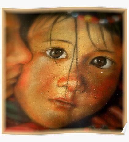 Chalk Portraits ~ Part Fifteen Poster