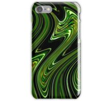 Liquid Green no.1 - Luminosity series iPhone Case/Skin