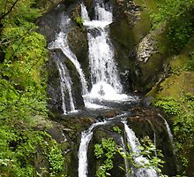 oregon waterfall by Crex2