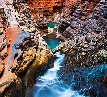 Regan's Pool, Karijini National Park by Ken Watt Photography