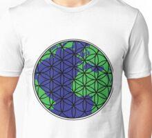 Flower of Life (Earth #1) Unisex T-Shirt