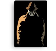 Rorschach  in the Shadows Canvas Print