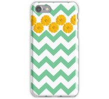 Zinnia Chevron iPhone Case/Skin