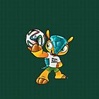 World Cup Mascot and Brazuca Ball by V-Art