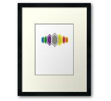 Rupees (Zelda) Framed Print