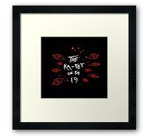 Ka-Tet of the 19 Framed Print
