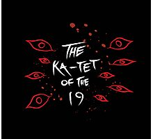Ka-Tet of the 19 Photographic Print