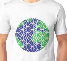 The Flower of Life (Earth #2) Unisex T-Shirt