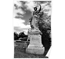 Historic Oakland Cemetery, Atlanta, Ga. Poster