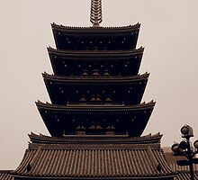 Japanese Pagoda by Fike2308