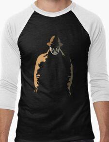 Rorschach  in the Shadows Men's Baseball ¾ T-Shirt