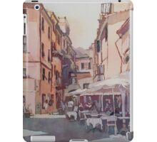 Monterosso Cafe iPad Case/Skin