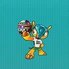 World Cup Mascot and 32 Countries Flag by V-Art