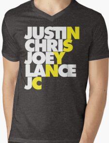 NSYNC Mens V-Neck T-Shirt