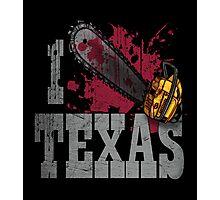 I Love Texas Photographic Print