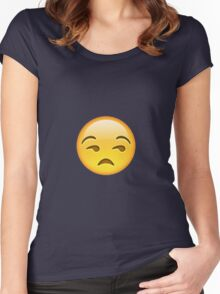 Unamused Women's Fitted Scoop T-Shirt