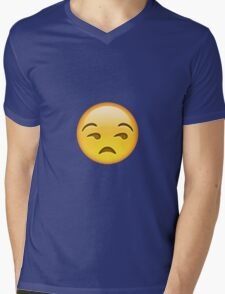 Unamused Mens V-Neck T-Shirt